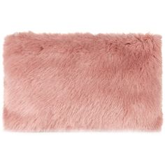 Whistles Faux Fur Clutch ($130) ❤ liked on Polyvore featuring bags, handbags, clutches, fur, pink, red clutches, red handbags, red purse, faux fur purse and pink clutches