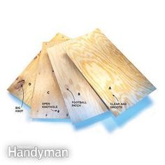 Understanding Plywood Grades: We take the mystery out of the plywood grading sys… Understanding Plywood Grades: We take the mystery out of the plywood grading system and show you what you will get in each grade. The higher the grade… Continue Reading →