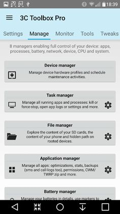 """3C Toolbox Pro v1.9.2.1   3C Toolbox Pro v1.9.2.1  Requirements:2.3 and upOverview:aka """"Android Tuner Pro"""" The most comprehensive toolbox to save battery tweak tune backup secure and monitor any Android devices running any ROMs any kernels (from Android 2.3 up-to Android L).   Replaces 20 apps easily worth 30 or more   Getting started:http://ift.tt/18puIVX  App screenshots:http://ift.tt/18puIW0  App benchmarks:http://ift.tt/1nhb4nT  Best on rooted phones works well on stock phones too…"""