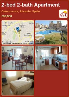 2-bed 2-bath Apartment in Campoamor, Alicante, Spain ►€99,950 #PropertyForSaleInSpain