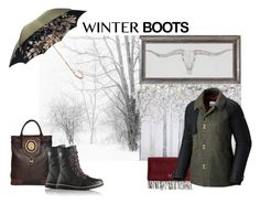 """""""Winter boots"""" by indiamonds ❤ liked on Polyvore featuring Yosemite Home Décor, ALDO, SOREL, Pasotti Ombrelli, Mark & Graham and winterboots"""