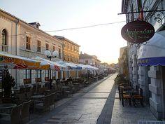 Pedonalja ne Shkoder Rruga Kol Idromeno, Dugajt e Reja Shkoder- Gusht 2013 - Foto Albert Vataj