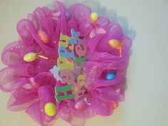 Happy Easter Wreath by RevisionMe on Etsy