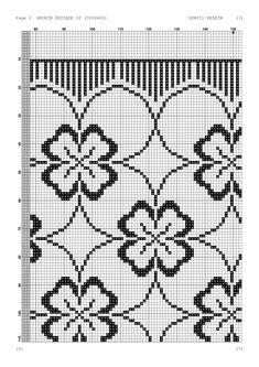 Cross Stitch Borders, Cross Stitch Designs, Cross Stitching, Filet Crochet, Crochet Doilies, Needlepoint Stitches, Prayer Rug, Blackwork, Diy And Crafts