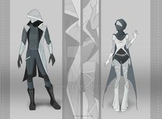 Prisma and May B's superhero outfits