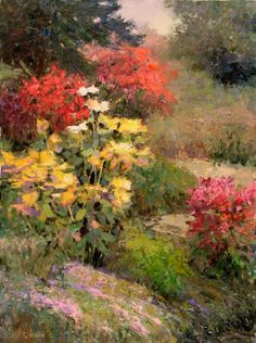 KENT R. WALLIS - Artist, Galleries in Carmel California- Jones & Terwilliger