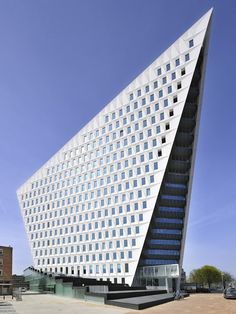 modern office building sustainable architecture by acme firm