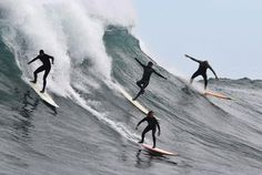 Big wave surfing at Dungeons, Cape Town Cape Dutch, Big Wave Surfing, Beach Cafe, Learn To Surf, Water Activities, Big Waves, Surfs Up, Cape Town, Night Life