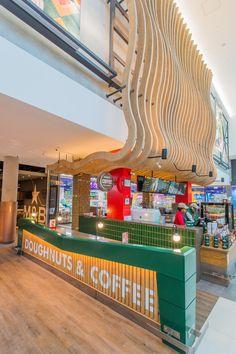 Intimate seating offering for coffee-lovers with custom bar lighting features.  #Design #InteriorDesign #HospitalityDesign #SouthAfrica #Architecture #DesignThatWorks #DesignforEveryone #foodandbeverage #ExperienceDesign #DesignPartnership #RestaurantDesign #DesignPhotography #DesignInspiration #ConceptualDesign