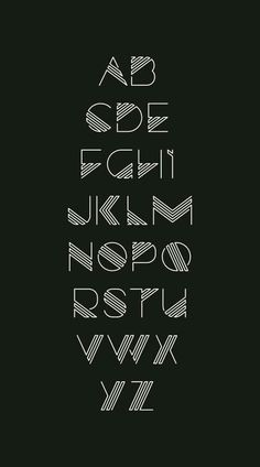 90 beautiful typography alphabet designs (part www. - level of education - 90 beautiful typography alphabet designs (part www. Fonte Alphabet, Design Alphabet, Hand Lettering Alphabet, Typography Letters, Alphabet Fonts, Letter Fonts, Typography Poster, Font Styles Alphabet, Decorative Alphabet Letters