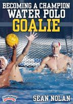 Becoming a Champion Water Polo Goalie - with Sean Nolan,  Cal Assistant Men's Water Polo Coach,  Olympic Development Program Director for Goalkeepers, 2000 Olympic team member    Become a brick wall in goal using these technique and drill progressions from goalie guru and 2000 Olympian Sean Nolan! Learn more than 15 drills to develop the skills you need to cover every inch of the cage.