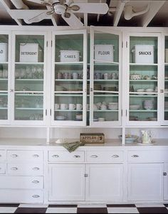 glass front cupboard - Google Search