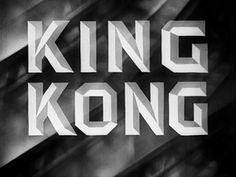 King Kong 1933 movie title