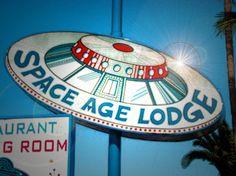 vintage motel sign-space age lodge