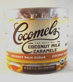 Coconut Palm Sugar Cocomels | JJ's Sweets