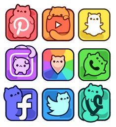 App Drawings, Cute Food Drawings, Cute Animal Drawings Kawaii, Disney Drawings, Food Drawing Easy, Cute Kawaii Animals, Tattoo Sketches, Kawaii Disney, Kawaii Doodles