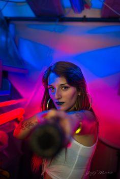 Portrait di backstage del videoclip Kevlar