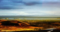 Mývatn Lake, Northern Iceland by Xenya Photography on Iceland Places To Visit, Places To See, Interactive Map, Studios, Mountains, Sunset, Photography, Travel, Image