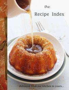 Recipe Index - Indian recipes