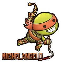 Chibi Michelangelo
