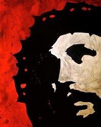 Brokenness - Jesus Painting