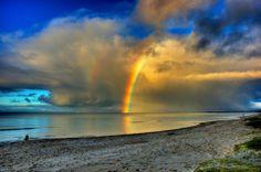 虹の生まれるとき。