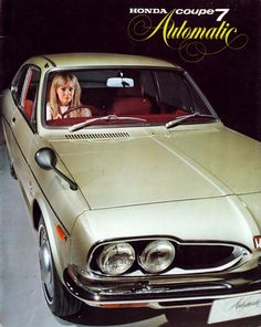Honda 1300 Coupe 7 Automatic 1969 Maintenance/restoration of old/vintage vehicles: the material for new cogs/casters/gears/pads could be cast polyamide which I (Cast polyamide) can produce. My contact: tatjana.alic@windowslive.com