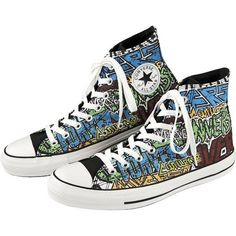 Converse Chuck Taylor Metal Logo Hi-Top Shoes ❤ liked on Polyvore