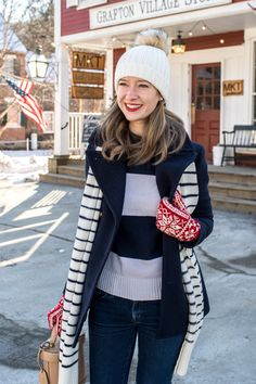 Vermont Winter, Preppy Winter Outfits, Winter Hats, Fall Winter, Winter Wardrobe, Work Fashion, Cold Weather, Feminine, Style Inspiration