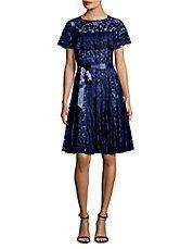 Ruffled Lace Dress