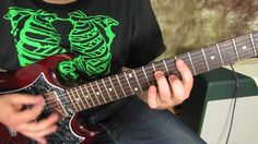 Motorhead - Ace of Spades - Rock Guitar Lesson Tutorial. Check out hundreds of free beginner guitar lessons @ http://www.bestbeginnerguitarlessons.com