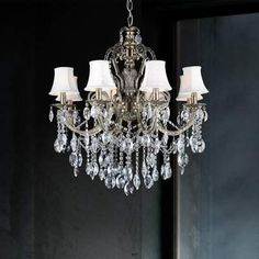 In Search Of Wilcox Chandelier Antique Brass Chandelier, Chandelier Shades, Lantern Pendant, Chandelier Lighting, Ceiling Decor, Ceiling Lights, Crystal Ceiling Light, Classic Lighting, White Candles