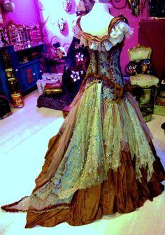 dress Handmade CandyDreamSpiral