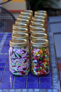 candy jars from my wedding...