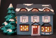 Dept 56 Snow Village    SPRINGFIELD HOUSE