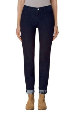 Free shipping and returns on J Brand Maude Cigarette Leg Jeans (Corsage) at Nordstrom.com. Playful floral patterns peek out at the cuffs of dark-wash jeans in a slim straight-leg silhouette.