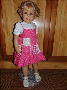 Милашка Кира от Моника Левениг.Новая в коробке!!! / Коллекционные куклы (винил) / Шопик. Продать купить куклу / Бэйбики. Куклы фото. Одежда для кукол