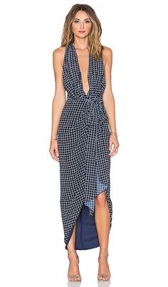 Shop for Shona Joy La Nina Cross Front Maxi Dress in Navy & White at REVOLVE. Free 2-3 day shipping and returns, 30 day price match guarantee.