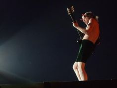 Angus Young the Devil.