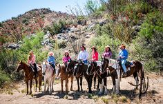 Nice to see a family riding together! Photo from Elkhorn Ranch in Arizona.