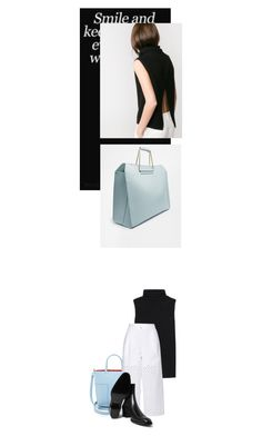 """""""s m ʌ ɪ l / - 0 3 3 -"""" by hey-anna ❤ liked on Polyvore featuring Tory Burch, The Row, Zimmermann and Yves Saint Laurent"""
