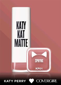 have shades in one-semi matte lipstick. That's new Katy Kat Matte from Katy Perry and COVERGIRL. What's your favorite? Kiss Makeup, Cute Makeup, Pretty Makeup, Hair Makeup, Beauty Nails, Beauty Makeup, Makeup Tips, Makeup Products, Beauty Products