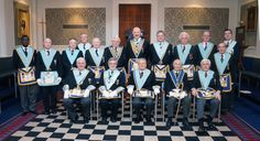 Worshipful Master and members - March 2014