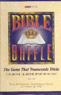 Bible Baffle (2-12 Players)