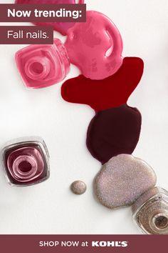 Essie Nail Polish, Nail Polish Colors, Nail Polishes, Classy Nail Designs, Nail Designs Spring, Cute Acrylic Nails, Cute Nails, Pretty Nails, Fall Manicure