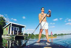 #bunboland #Brandenburg #BunBo #Havel #Urlaub #Hausboot #Bungalowboot #Standuppaddle