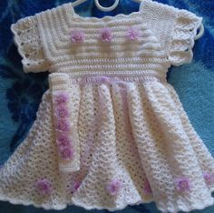 Holiday Christmas Gift Crochet Antique White ♥ by mkhrcrochet1965, $95.00