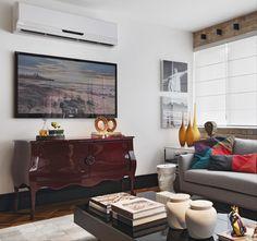 A Altura ideal para tomada do ar condicionado é entre 2.10m-2.20m