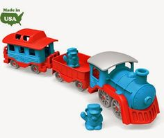 Green Toys train giveaway on newagemama.blogspot.com