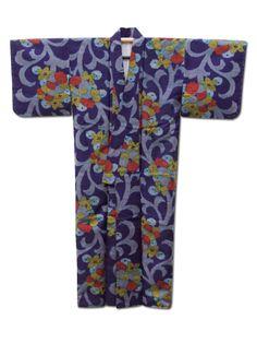 Fuji Kimono #gift idea No.20 ☆ 'Harvest Festival' #vintage #Japanese #silk #kimono - £70. Last posting date Dec 19!  http://www.fujikimono.co.uk/womens-kimono/harvest-festival.html